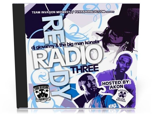 Team Invasion Midwest - Radio Ready 3 (Hosted By Akon) ( 2008 )