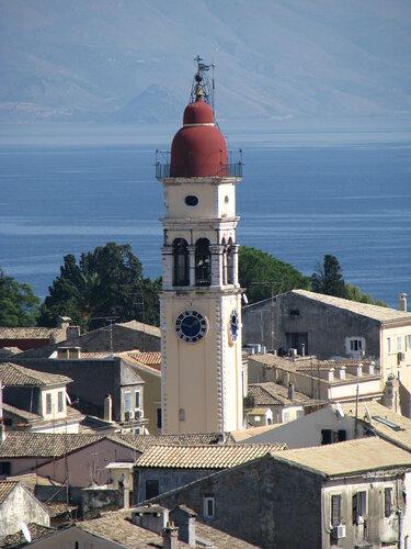 Корфу.  Керкира.  Старый  город. Церковь Святого Спиридона - покровителя острова