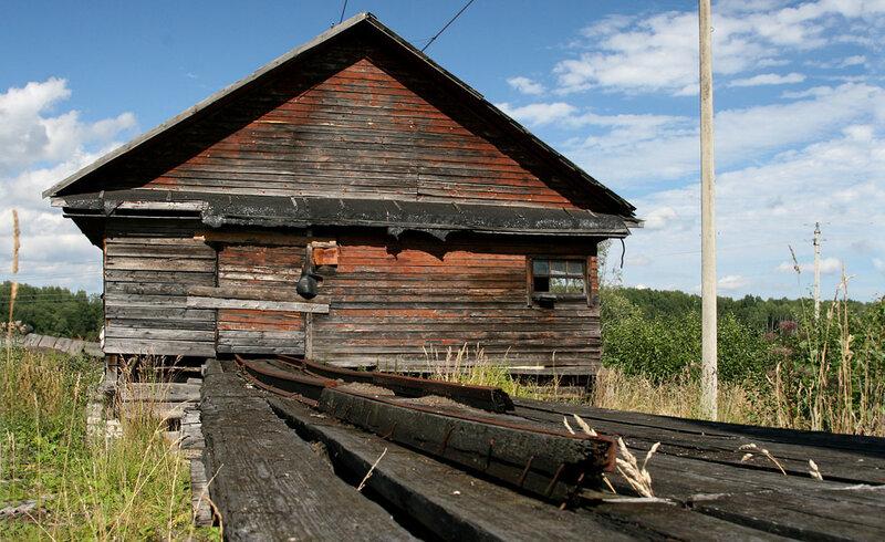 Усадьба Толстых. Старые мастерские