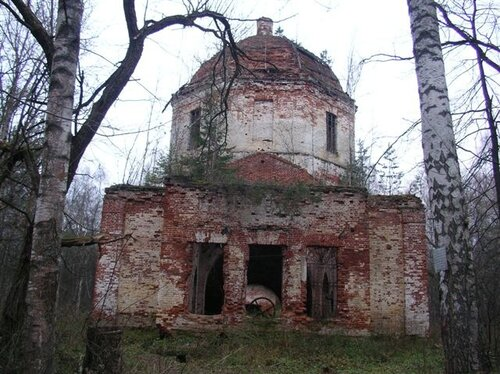 Пустопольский Погост. Фасад