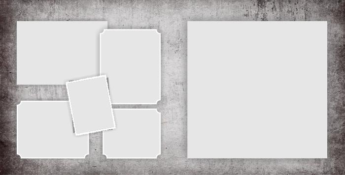 шаблон классической фотокниги