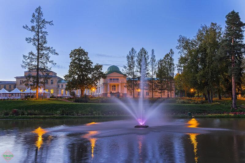 Тихий вечер в парке