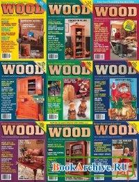 Журнал Wood Magazine №49-57 1992 (полный архив за 1992 год).