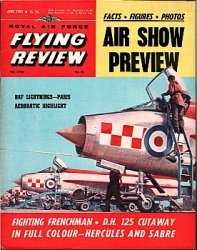 Журнал Royal Air Force Flying Review №6 1963