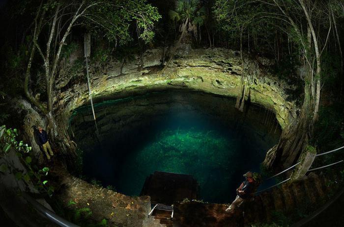 Великолепие подводных пещер