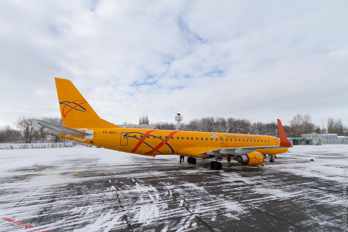 аэропорт саратов embraer ssj аэрофлот 6