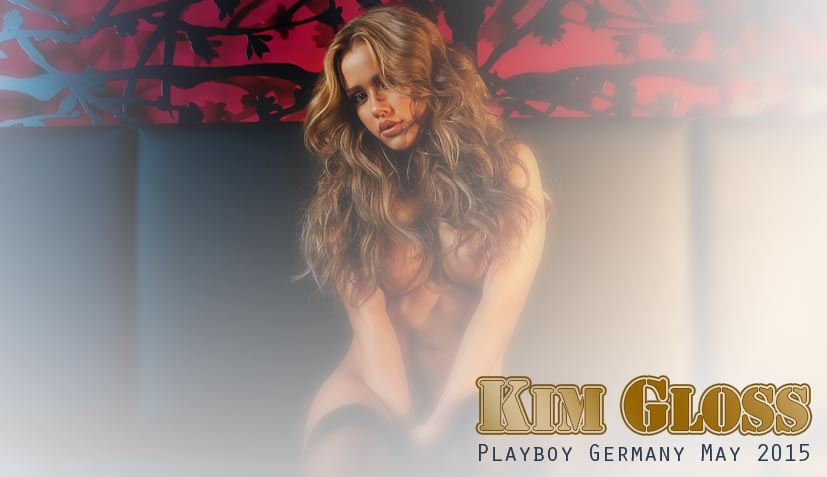 Kim Debkowski / Kim Gloss - Playboy Germany may 2015
