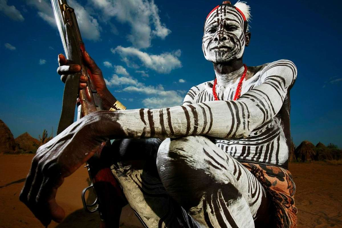 Дикари с автоматами на снимках фотографа из ЮАР Brent Stirton (3)