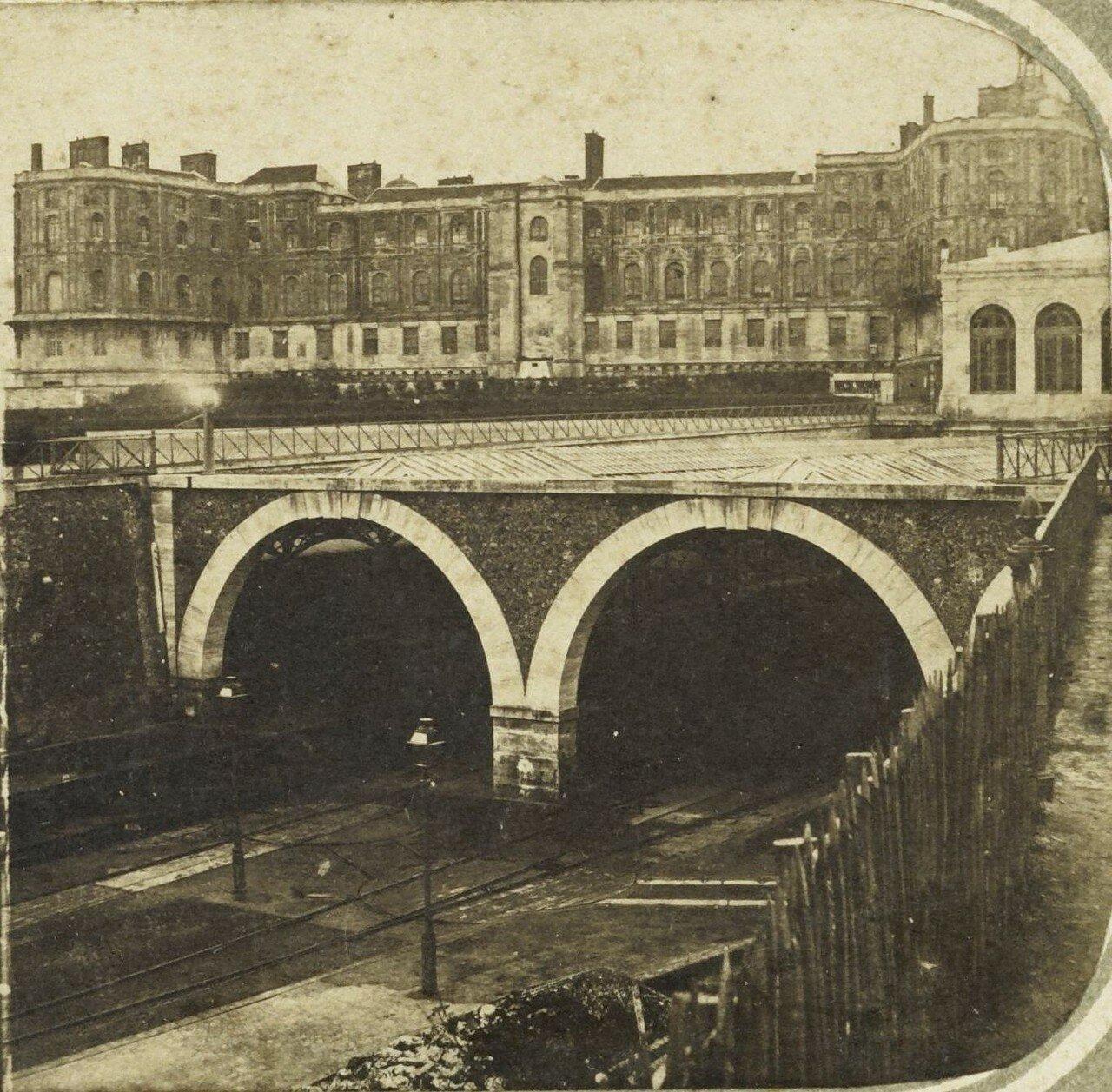 1855. Железная дорога в Сен-Жермен