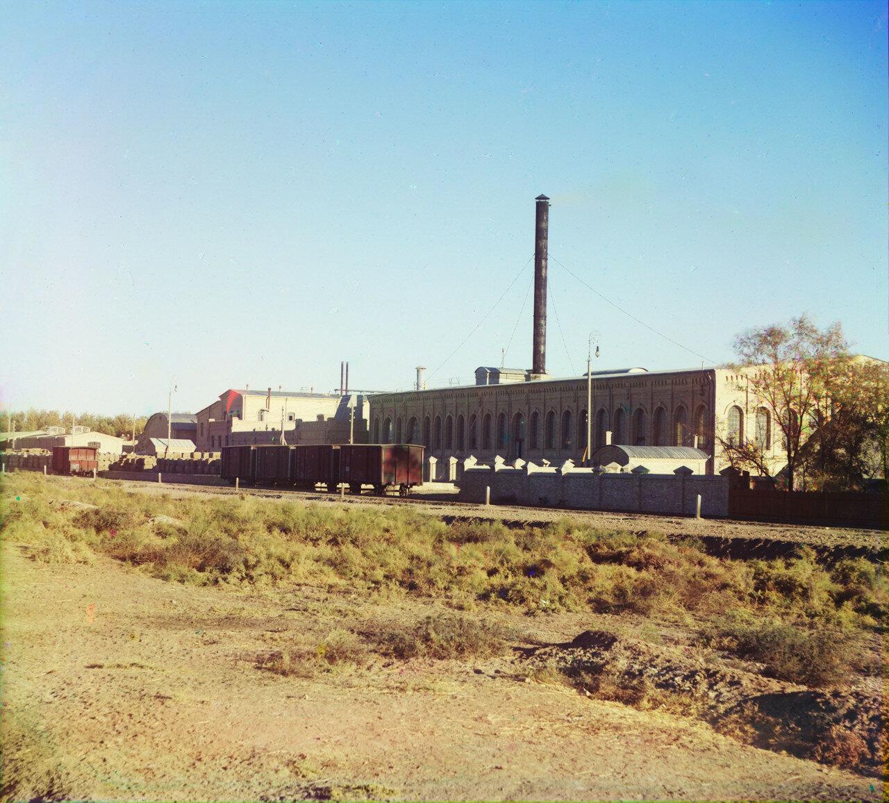 Окрестности Мерва. Байрам-Али. Мургабское имение. Хлопковый завод в Мургабском имении