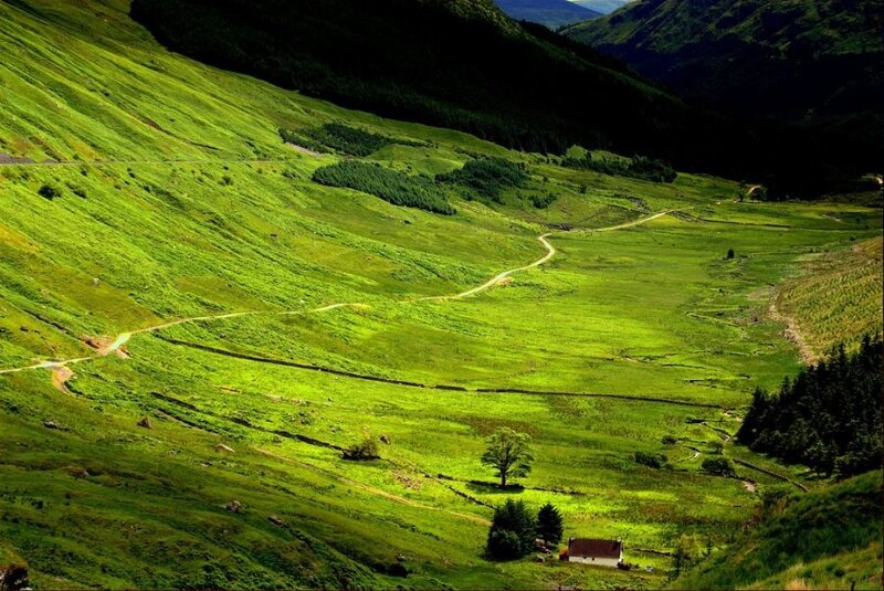 Secluded glen - Scotland