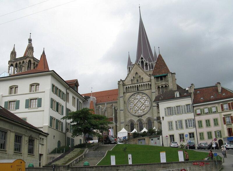 Лозанна, кафедральный собор.