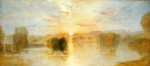 Уильям Тернер- Озеро Петуорт, закат
