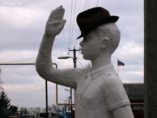 Горнист в шляпе (Вичуга)
