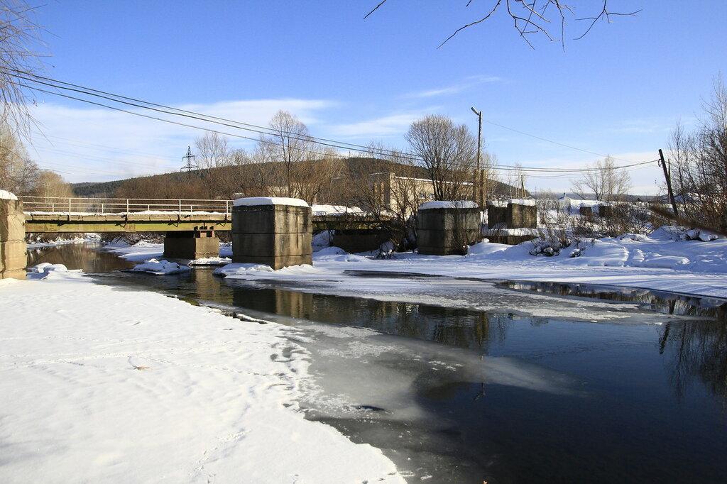 река Куса, мост