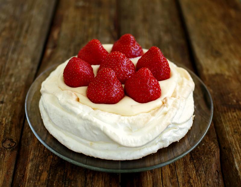 Торт Павлова - простой пошаговый рецепт с фото #14.