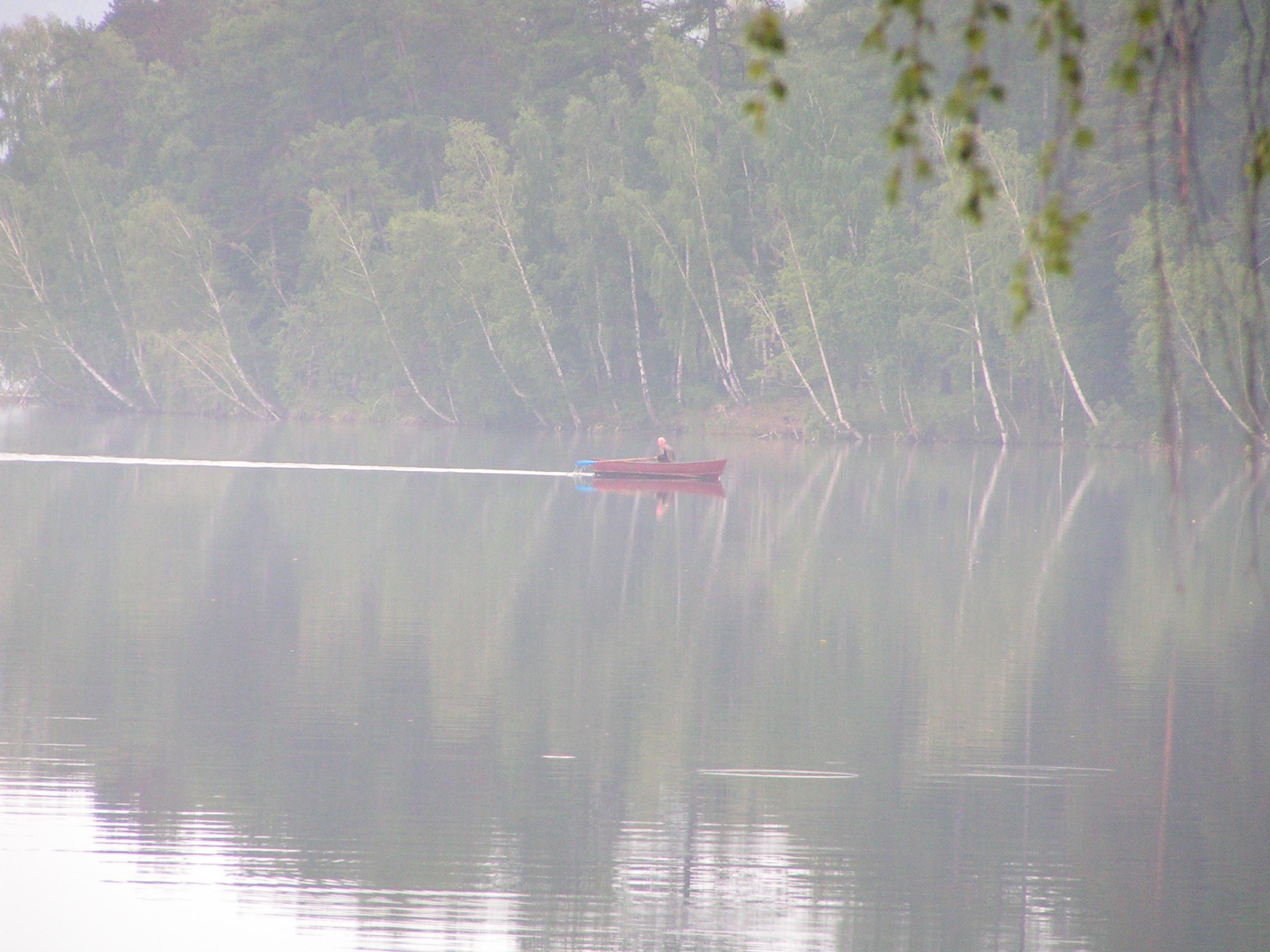 Лодка наТургояке