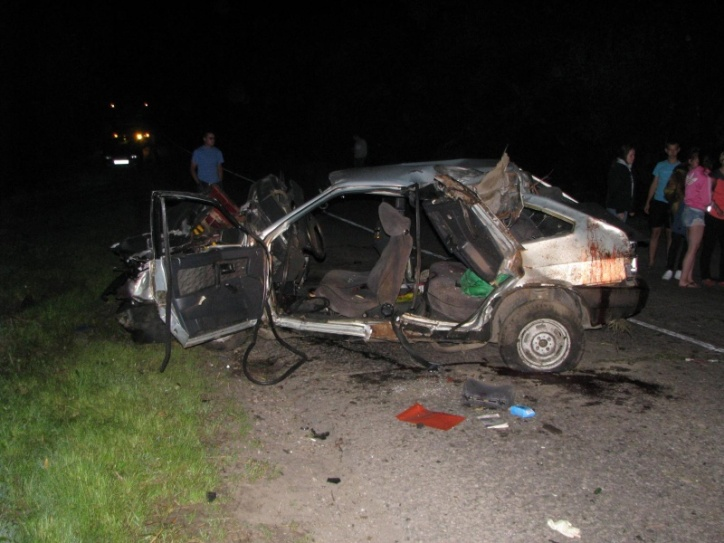 Под Ухоловом разбились шофёр идва пассажира «девятки»