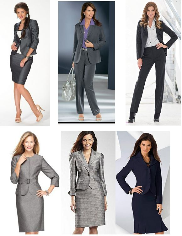 Деловая Одежда Для Женщин Фото