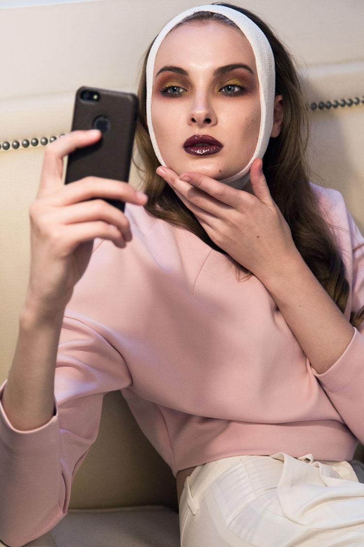 Ольга Власенко в фотосессии Дина Дальмасио