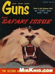 Журнал Guns Magazine 1964-01