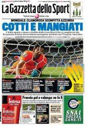 Журнал La Gazzetta dello Sport (21 Giugno 2014)