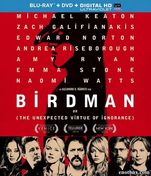 Бёрдмэн / Birdman (2014/BDRip/HDRip)