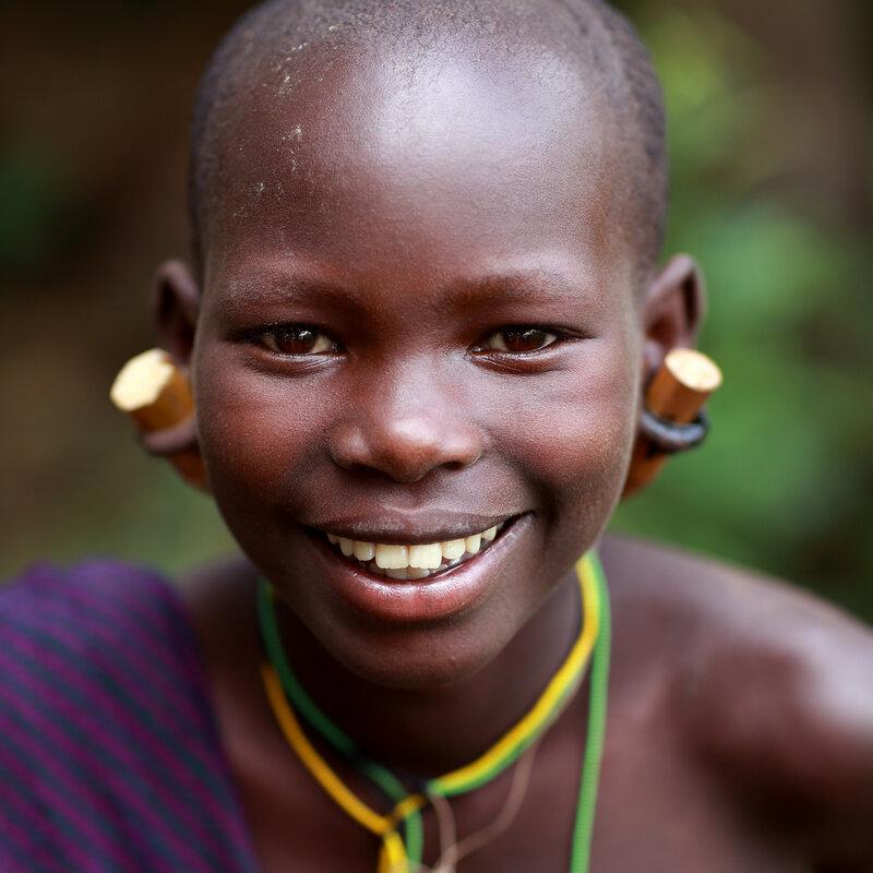 Красота по африкански