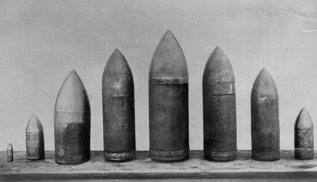 39. Бронебойные снаряды, изготовленные на заводе