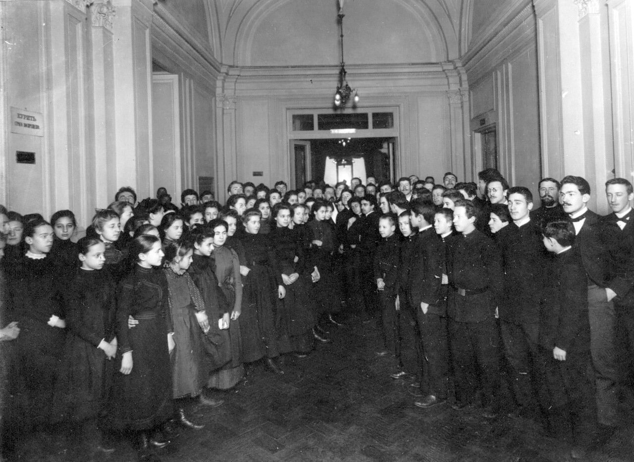 47. Группа учащихся подготовительных классов