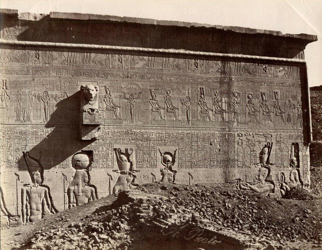 Дендера. Внешний вид храма