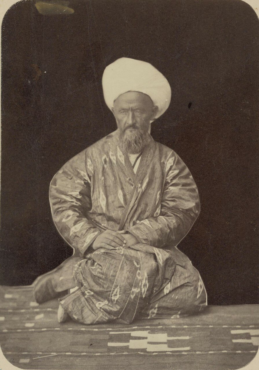 Портреты лиц, приближенных к кокандскому хану. Мулла Иса-Аулье
