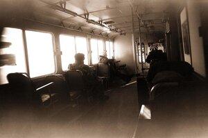 Полдень в автобусе