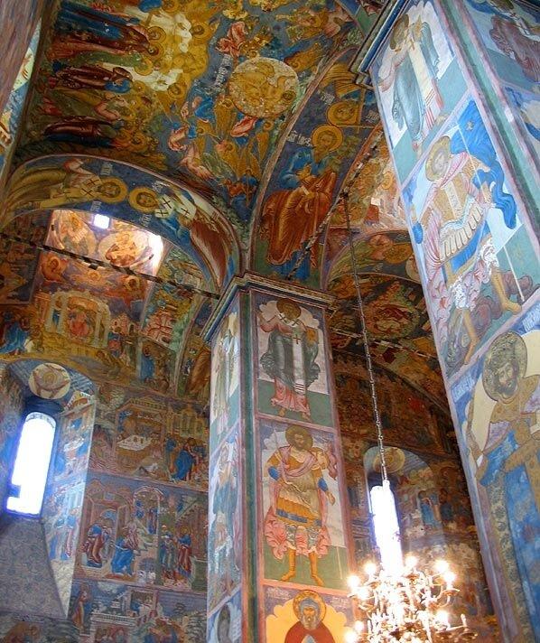 Ярославль. Росписи храма Ильи Пророка