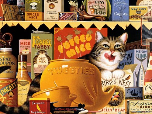 JeeBee — «Коты и кошки Чарльза Высоцки (CharlesWysocki)» на Яндекс.Фотках