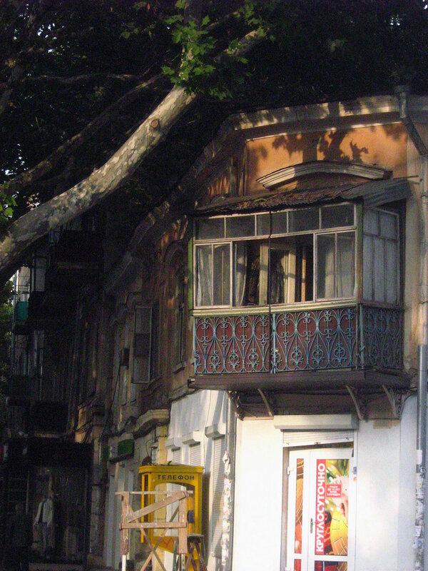 Уютный балкончик