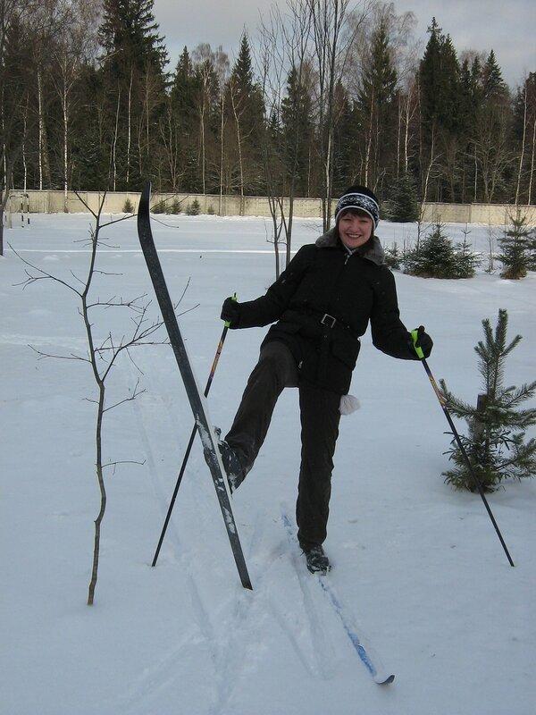 Я на лыжах!:-)