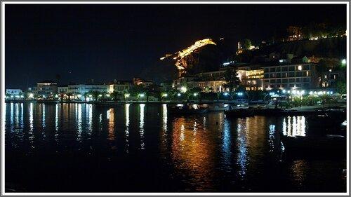 Вид на ночной Нафплио