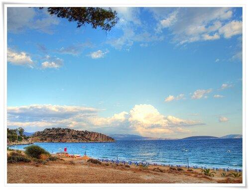 Пляж г. Толо