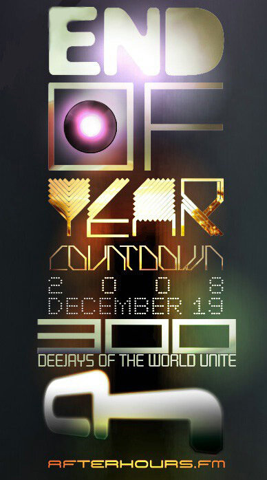 AH.FM presents End of Year Countdown 2008 (4 дня)