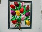 Воронкова Настя (рук. Шкодина Мария Николаевна) - Тюльпаны