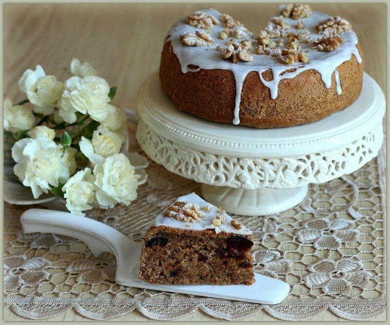 Пирог «Кофейный чернослив»