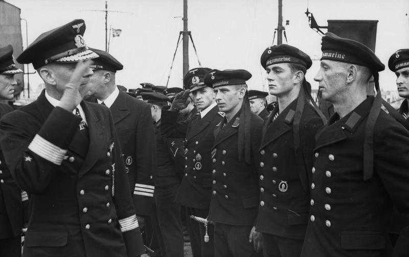 Friedrich Oskar Ruge bei MS-Flottille
