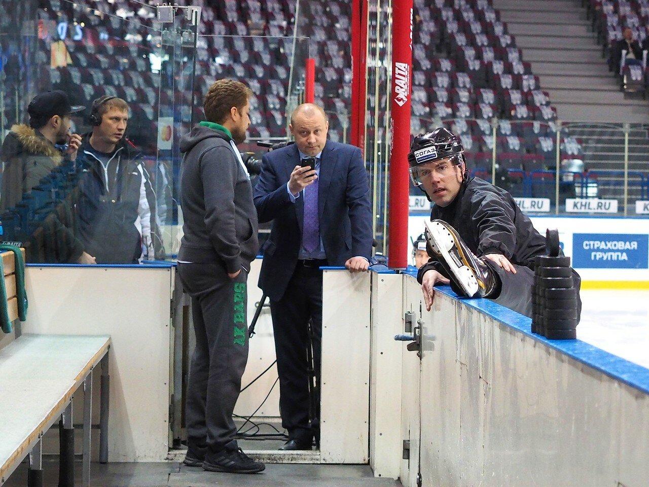 7 Первая игра финала плей-офф восточной конференции 2017 Металлург - АкБарс 24.03.2017
