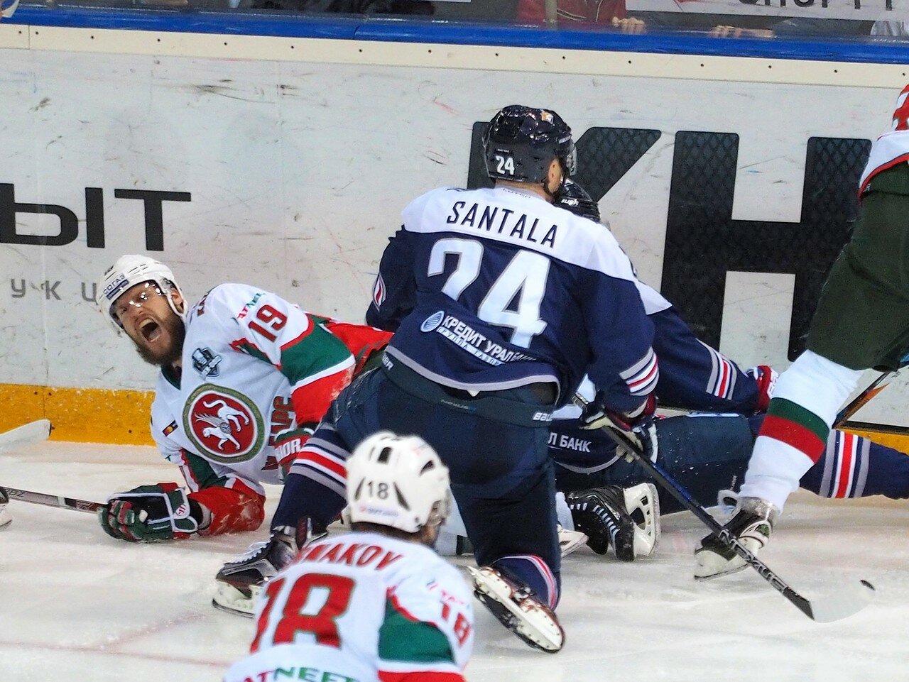 39 Первая игра финала плей-офф восточной конференции 2017 Металлург - АкБарс 24.03.2017