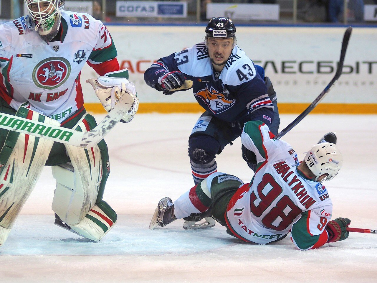 104 Первая игра финала плей-офф восточной конференции 2017 Металлург - АкБарс 24.03.2017