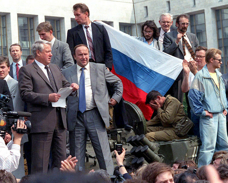 1991 год в цвете. Последний год СССР