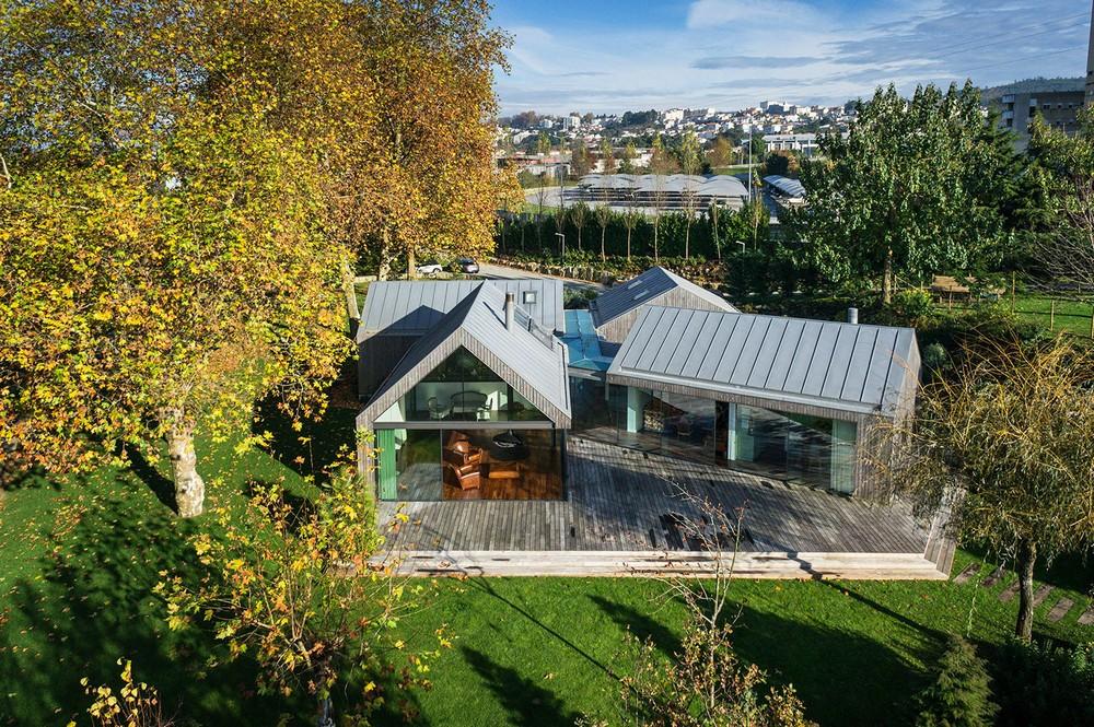 Семейная резиденция для отдыха в Португалии