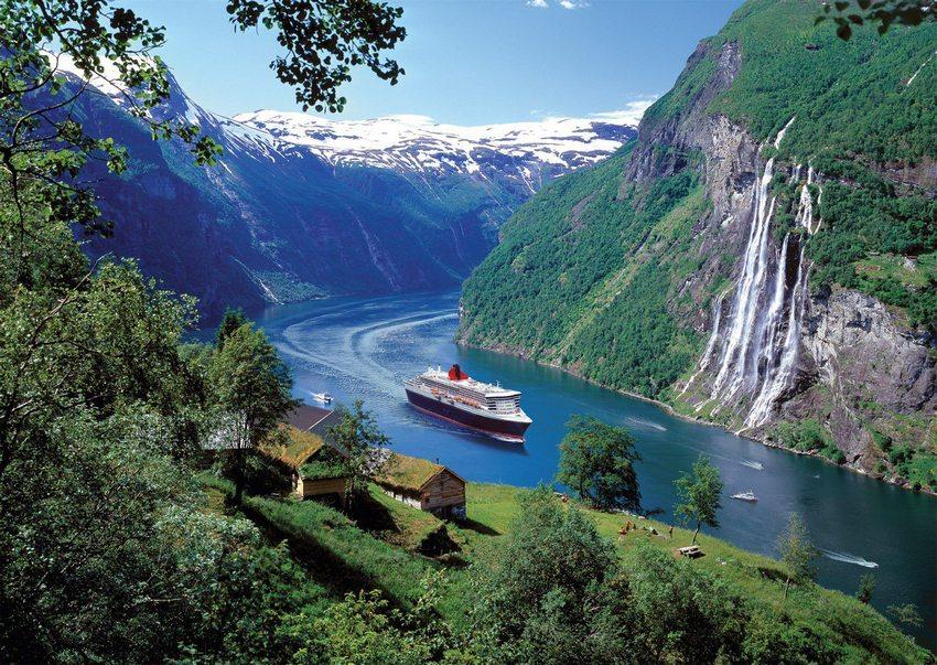 Одни из самых красивых фьордов мира