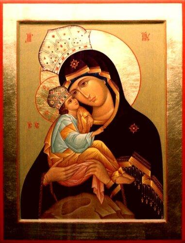 5 августа - день Почаевской иконы Божией Матери.